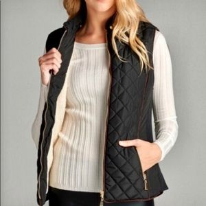 Jackets & Blazers - 🆕🖤 Gorgeous Black Quilted Vest 🖤